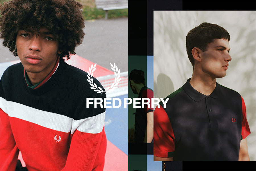 Shoppa Fred Perry skor online hos Nilson Shoes