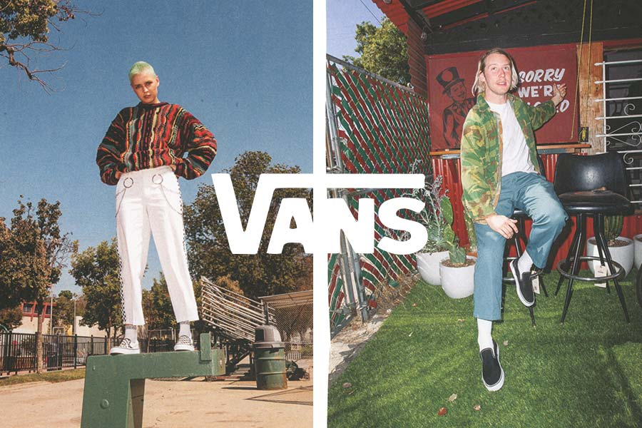 Shoopa Vans online hos nilson Shoes