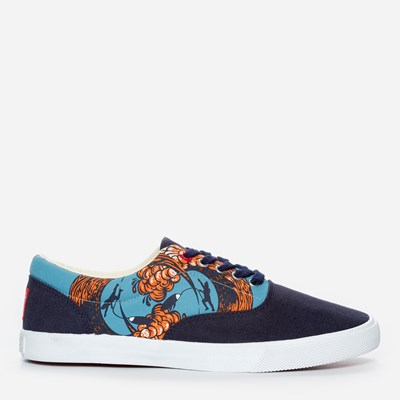 Bucketfeet Wipe Out Summer Solstice Lace - Blå 292275 feetfirst.se