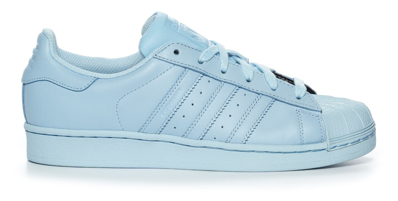 Adidas Superstar Ljusblå