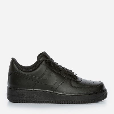 Nike Air Force 1 '07 - Svarta 294316 feetfirst.se
