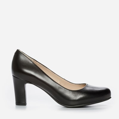 Unisa Obsi Plain Leather - Svarta 295454 feetfirst.se