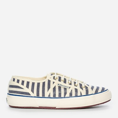 Superga Scotch & Soda Striped - Blå 297795 feetfirst.se