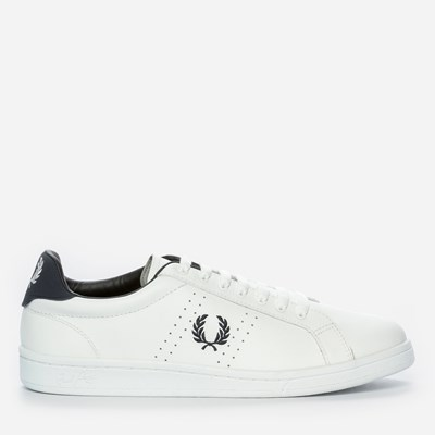 Fred Perry Parkside Leather - Vita 298480 feetfirst.se