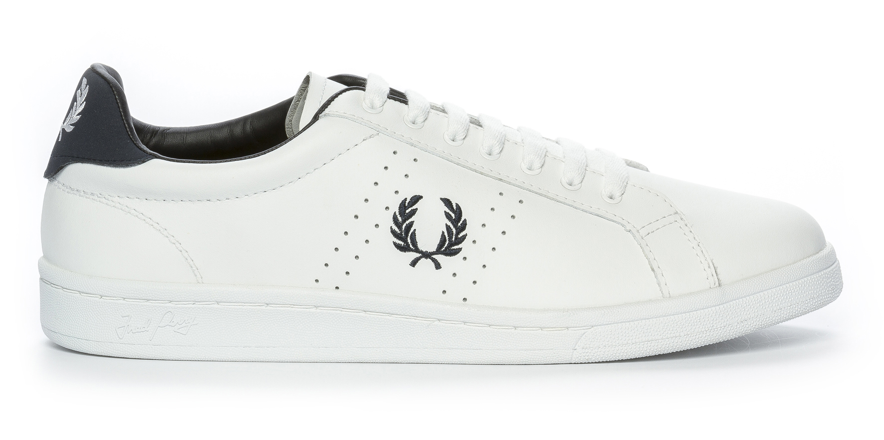 487d33e08d7 Fred Perry Parkside Leather - Vita 298480 feetfirst.se