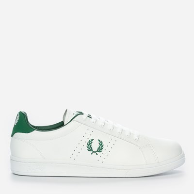 Fred Perry Parkside Leather - Vita 298481 feetfirst.se