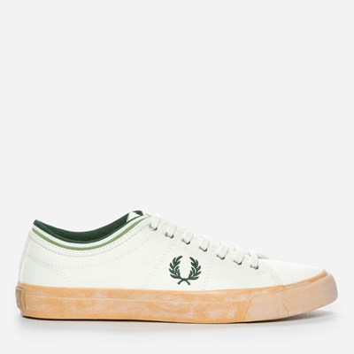 Fred Perry Kendrick Tipped Cuff Canvas - Vita 298485 feetfirst.se