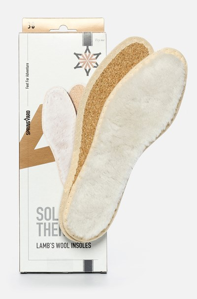 Springyard Lamb´S Wool Insoles -  298810 feetfirst.se