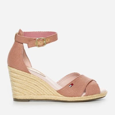 Tommy Hilfiger Lala Wedge - Rosa 299478 feetfirst.se