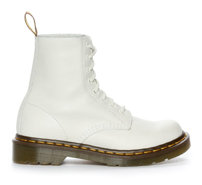 Dr Martens Pascal, 8 Eye Boot - Vita 302289 feetfirst.se