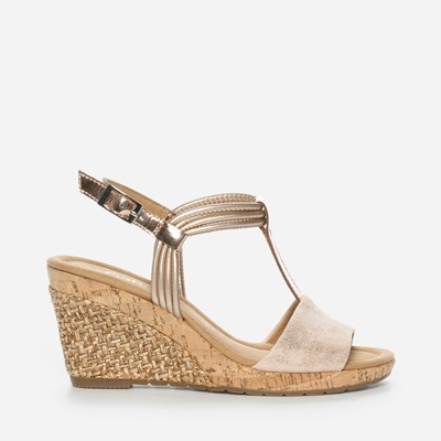 Gabor Lina Wedge - Rosa 305595 feetfirst.se