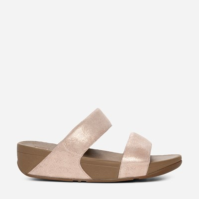 Fitflop Shimmy Slide - Rosa 307427 feetfirst.se