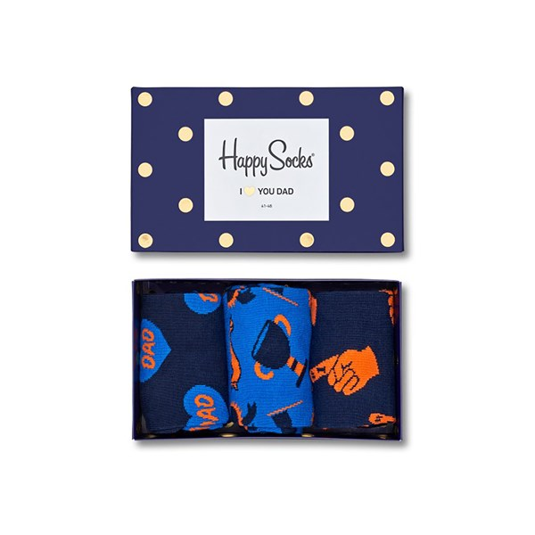 Happy Socks Gift Box 41-46 - Blå 309552 feetfirst.se