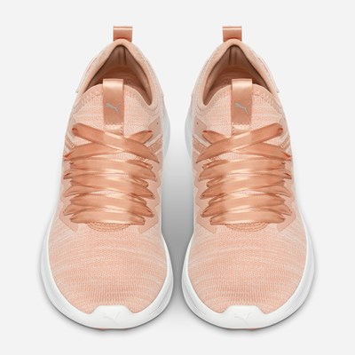 Puma Ignite Flash Evoknit Satin - Rosa 314287 feetfirst.se