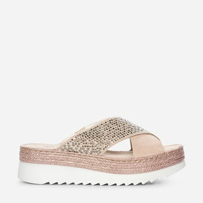 Tamaris Fly Strass - Rosa 315205 feetfirst.se