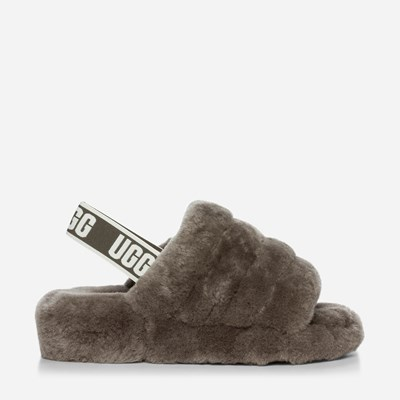 sports shoes 074c9 09715 ... Ugg Fluff Yeah Slide - Gråa 318327 feetfirst.se