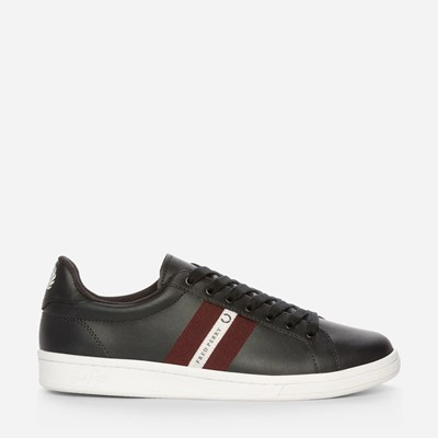 Fred Perry B721 Leather/Tape - Blå,Blå 322515 feetfirst.se