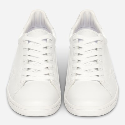 Fred Perry B721 Embossed Laurel - Vita,Vita 322517 feetfirst.se
