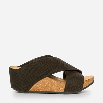 Copenhagen Shoes Frances Wedge - Svarta,Svarta 325378 feetfirst.se