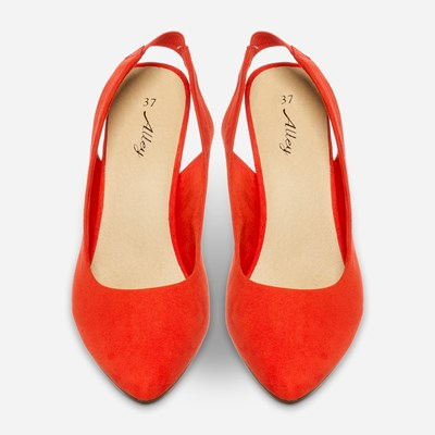 Alley Pumps - Röda 312359 feetfirst.se