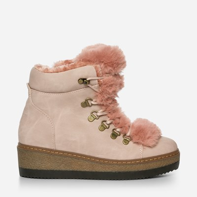 Alley Varmfodrad Boots - Rosa 317148 feetfirst.se