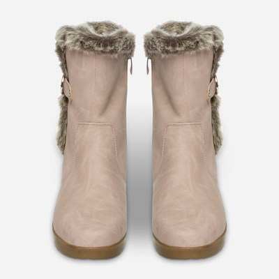 Alley Varmfodrad Boots - Rosa,Rosa 317168 feetfirst.se