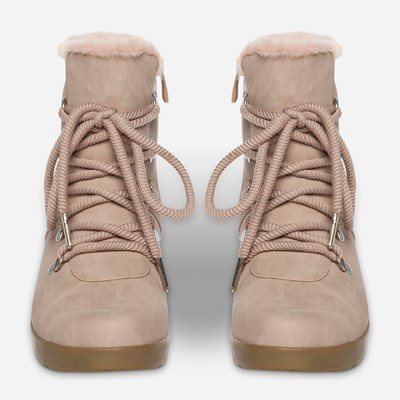 Alley Varmfodrad Boots - Rosa 317295 feetfirst.se