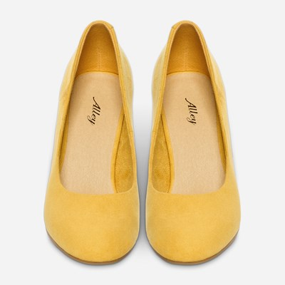 Alley Pumps - Gula,Gula 320561 feetfirst.se